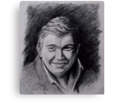 John Candy Drawing Canvas Print