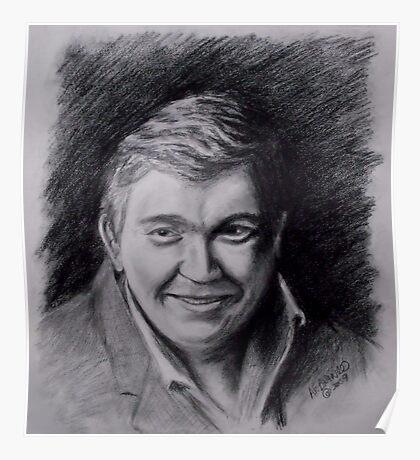 John Candy Drawing Poster