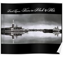 Venice in Black & White  Poster