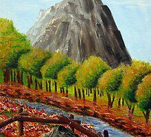 Finger Mountain by Lawrence Nadeau by CoastalCarolina