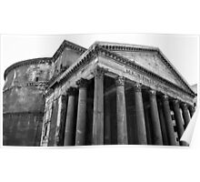 The Pantheon, Rome, Italy. Poster