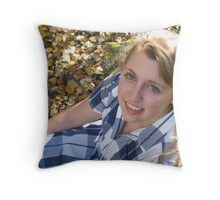 Color's of fall Throw Pillow