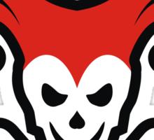Jolly Roger Joker Skull Logo Sticker