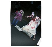 Zombie Bride and Child Poster
