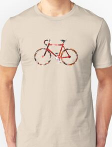The Bicycle. Colour Sketch. T-Shirt