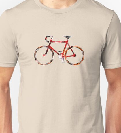 The Bicycle. Colour Sketch. Unisex T-Shirt