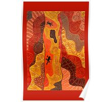 Scribbly Gum Poster