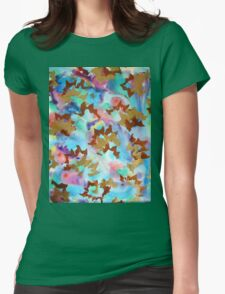 The Garden of Mysteries. Womens Fitted T-Shirt