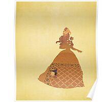 Belle - Beauty & The Beast - Disney Inspired Poster