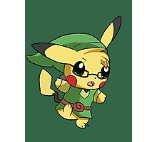Pikachu Link! Photographic Print