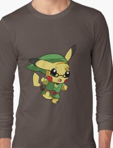 Pikachu Link! Long Sleeve T-Shirt