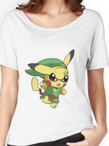 Pikachu Link! Women's Relaxed Fit T-Shirt