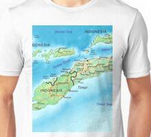 a colourful East Timor landscape Unisex T-Shirt