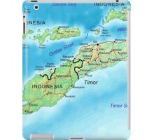 a colourful East Timor landscape iPad Case/Skin