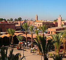 Postcard from Marrakech by Atanas Bozhikov NASKO