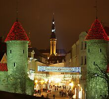 Christmas Time in Tallinn by Marko Palm