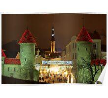 Christmas Time in Tallinn Poster