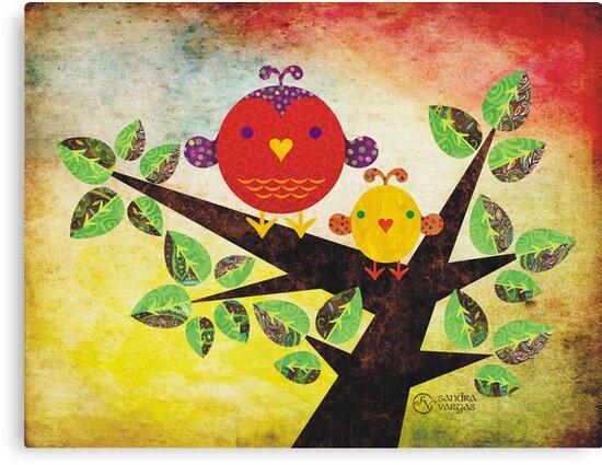 Love Birds by sandygrafik