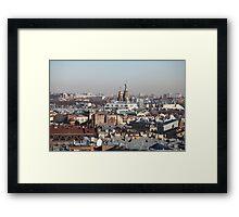 Panorama of St. Petersburg  Framed Print