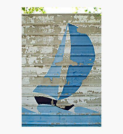 Crazy Sailing Photographic Print