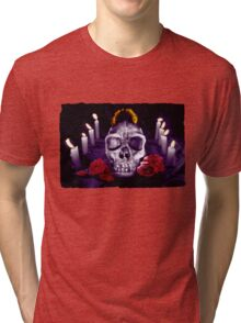 Death, candles and history Tri-blend T-Shirt