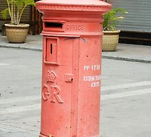 Postbox to a Former Monach by Marie Watt