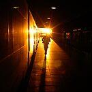 Chasing a Train in Barcelona by pdgoodman