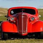 1937 Chevrolet - Antique Car in Virginia Field by pdgoodman