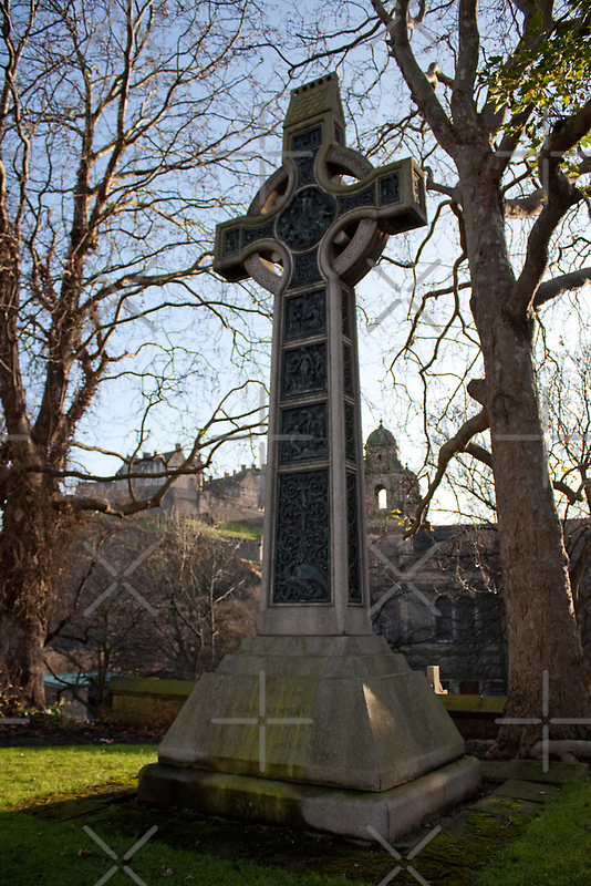 Dean Ramsay Memorial Cross by Tom Gomez