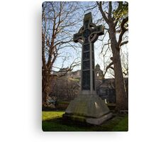 Dean Ramsay Memorial Cross Canvas Print