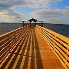 A Brand New Dock Built by Dana Yoachum