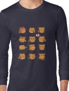 Fuzzballs Kawaii Tiger Long Sleeve T-Shirt