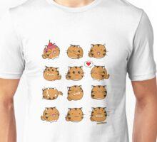 Fuzzballs Kawaii Tiger Unisex T-Shirt