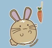 Fuzzballs Bunny Carrot Tease One Piece - Short Sleeve