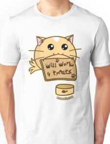 Fuzzballs Will Work For Treats Unisex T-Shirt