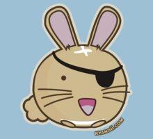 Fuzzballs Bunny Pirate One Piece - Short Sleeve