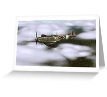 MK Vb SPITFIRE  Greeting Card