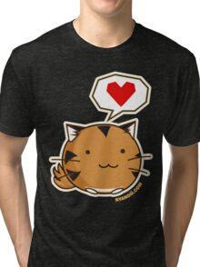 Fuzzballs Tiger Tri-blend T-Shirt