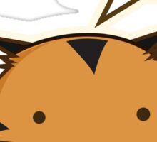 Fuzzballs Tiger Sticker