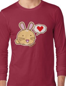 Fuzzballs Happy Bunny Long Sleeve T-Shirt