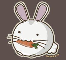 Fuzzballs Bunny Carrot One Piece - Short Sleeve