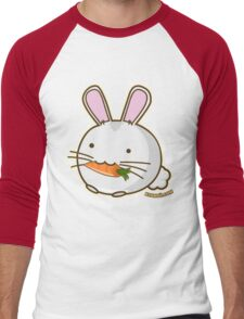 Fuzzballs Bunny Carrot Men's Baseball ¾ T-Shirt