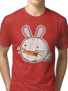 Fuzzballs Bunny Carrot Tri-blend T-Shirt