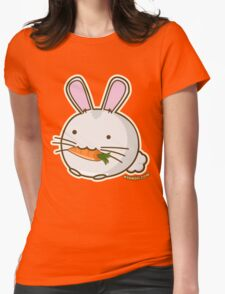 Fuzzballs Bunny Carrot Womens Fitted T-Shirt