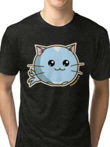 Fuzzballs OMG Kitty Tri-blend T-Shirt