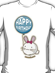 Fuzzballs Happy Birthday Bunny T-Shirt