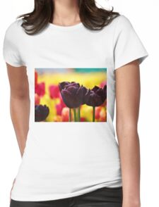 Tulips! Womens Fitted T-Shirt