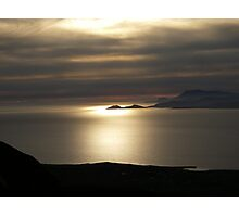 Achill Island as seen from Croagh Patrick Photographic Print