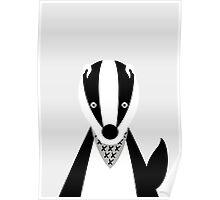 Boris the Badger Poster