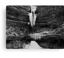 Ice and Stone Canvas Print